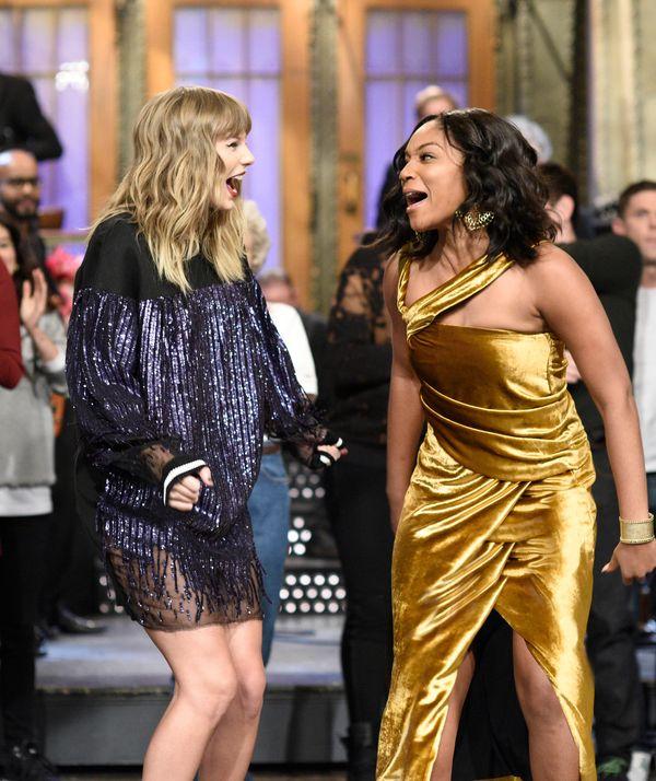"On ""Saturday Night Live"" with host Tiffany Haddish."
