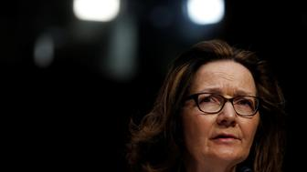 CIA Director nominee Gina Haspel testifies at her confirmation hearing before the Senate Intelligence Committee on Capitol Hill in Washington, U.S., May 9, 2018.  REUTERS/Aaron P. Bernstein