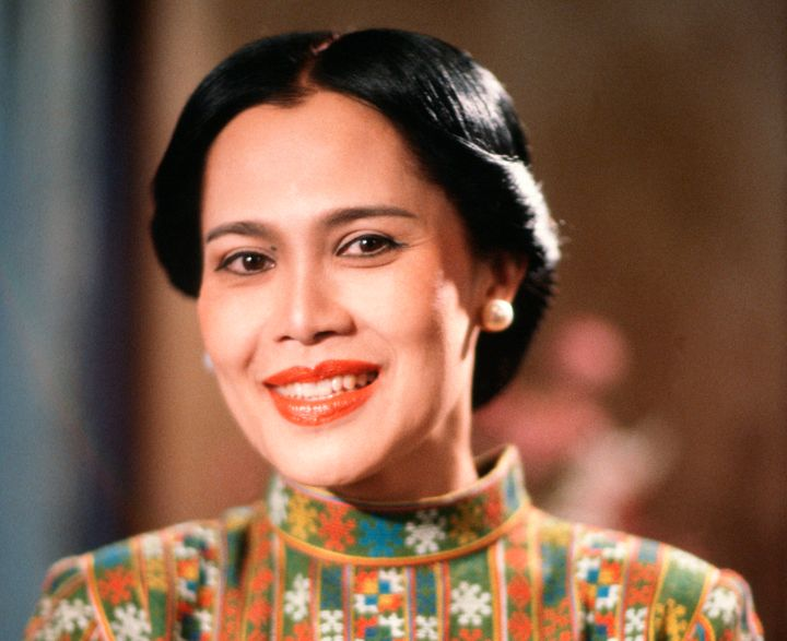 Mother's Day in Thailand takes place on the birthday of Queen Sirikit, seen here in 2001.