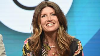 BEVERLY HILLS, CA - JULY 30:  Creator/executive producer/writer Sharon Horgan speaks onstage during the 'Divorce' panel discussion at the HBO portion of the 2016 Television Critics Association Summer Tour at The Beverly Hilton Hotel on July 30, 2016 in Beverly Hills, California.  (Photo by Jeff Kravitz/FilmMagic)