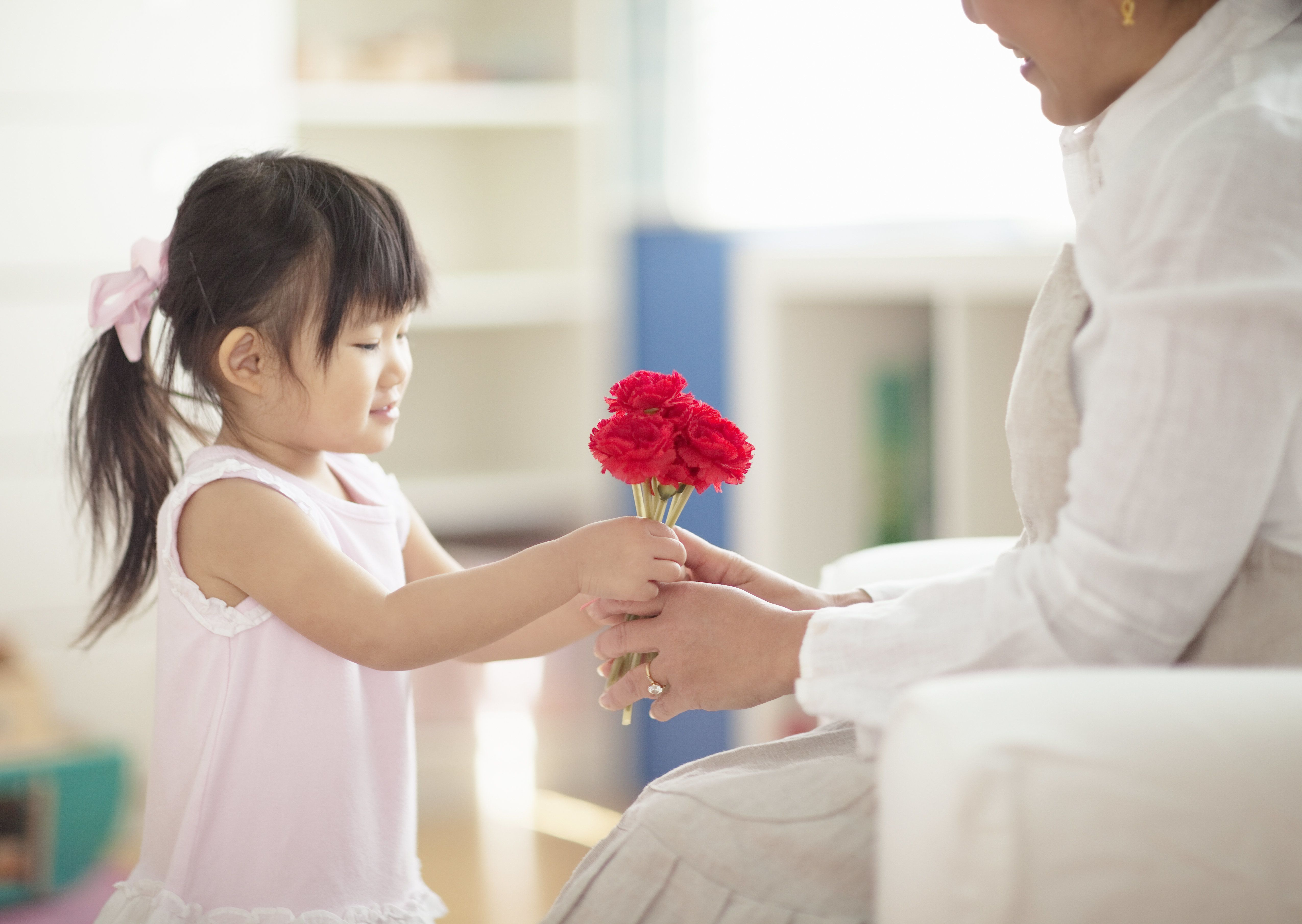 Countries around the world have different Mother's Day dates and practices.