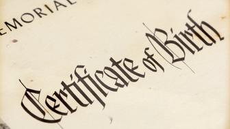 Older Birth Certificate