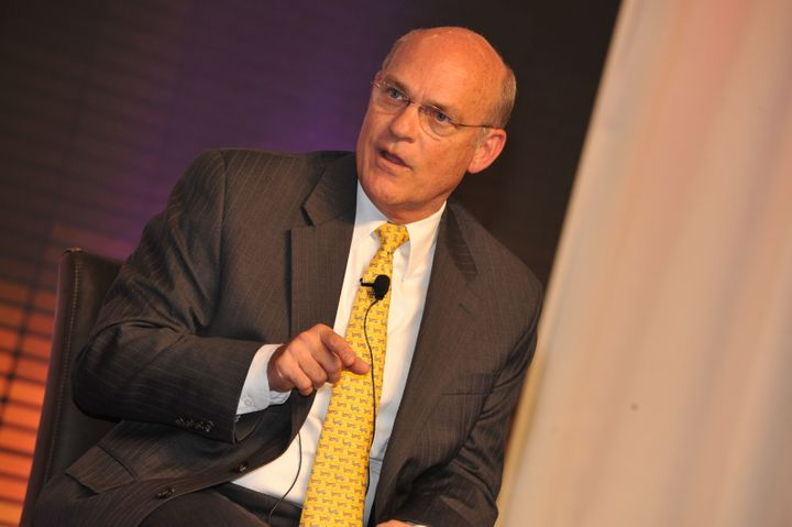 Rear Adm. Tim Ziemer attends a conference in Atlanta in 2011. He is leaving his National Security Council position