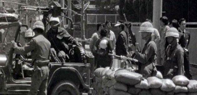 5·18 당시 전남도청을 장악한 계엄군의