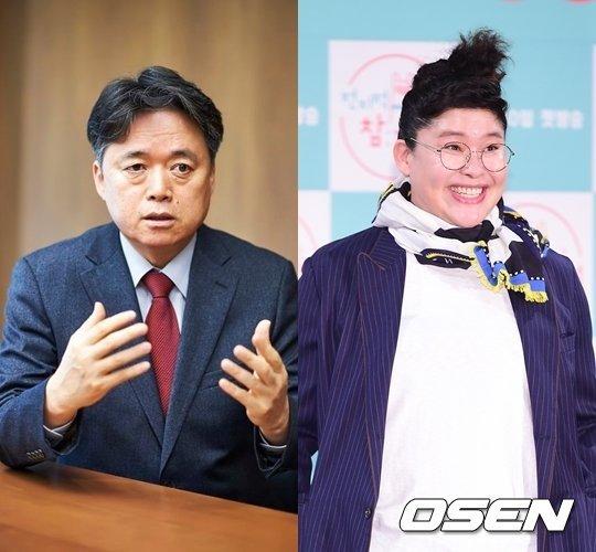 MBC 최승호 사장이 이영자에