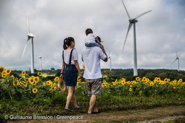2011년 원전 사고 이후 2040년까지 100% 재생가능에너지로의 전환을 약속한 일본 후쿠시마현의