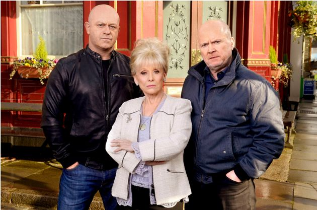 Dame Barbara played Peggy Mitchell in