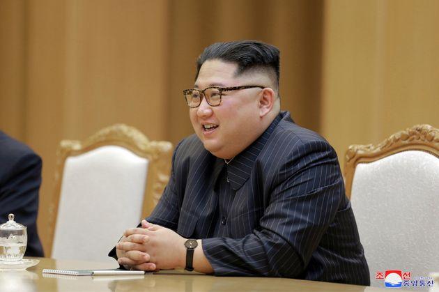 북미정상회담을 앞두고 폼페이오와 김정은이