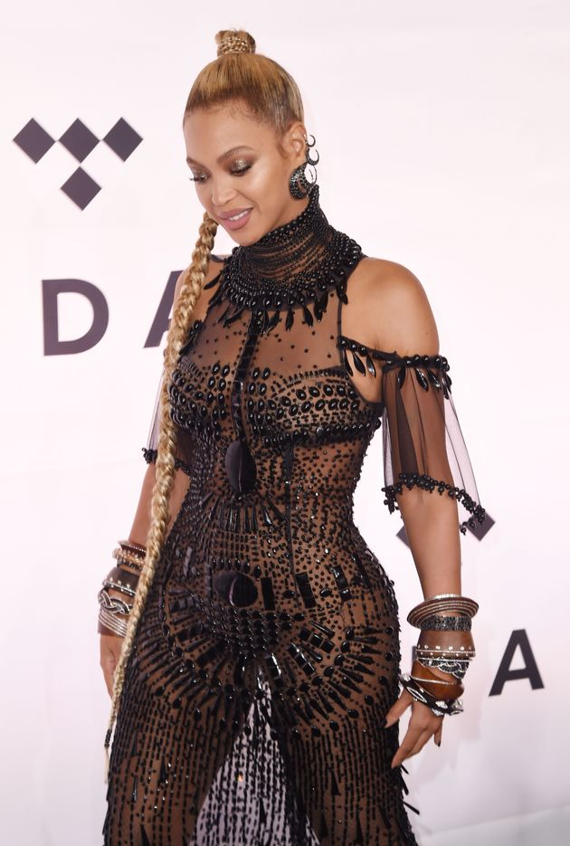 Beyoncé at a TIDAL event in