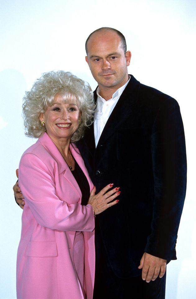 Barbara Windsor and Ross