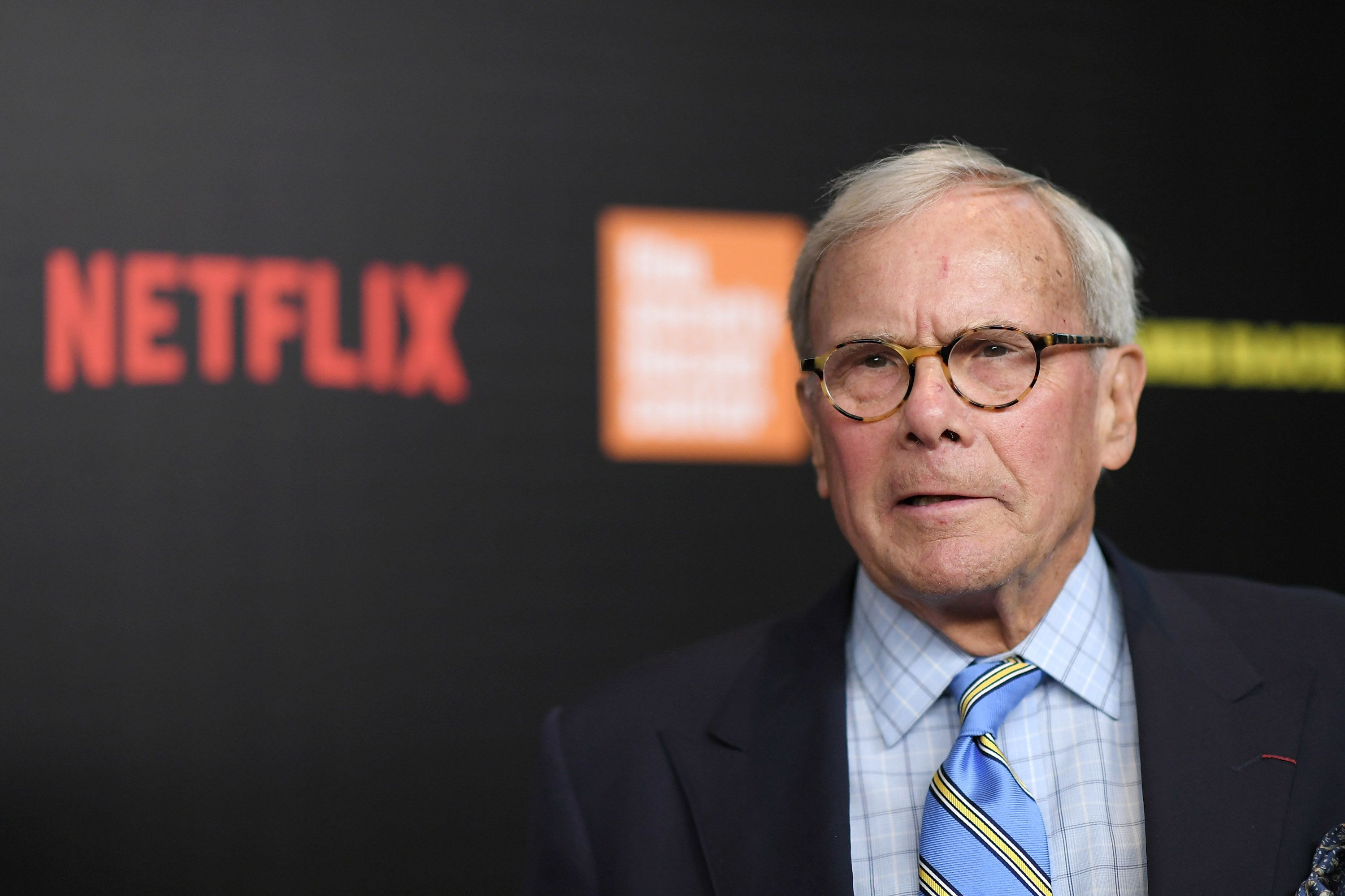 NEW YORK, NY - MARCH 27:  Tom Brokaw attends the 'Five Came Back' world premiere at Alice Tully Hall at Lincoln Center on March 27, 2017 in New York City.  (Photo by Mike Coppola/Getty Images)