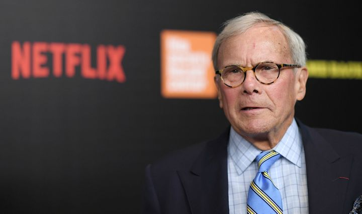 """Tom Brokaw attends the """"Five Came Back"""" premiere at Lincoln Center on March 27, 2017, in New York City."""