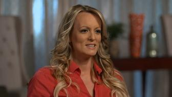 NEW YORK - MARCH 22: Stormy Daniels in her interview with Anderson Cooper to be broadcast on 60 MINUTES Sunday, March 25 (7:0-8:00PM, ET/PT) on the CBS Television Network. Image is a frame grab. (Photo by CBS via Getty Images)