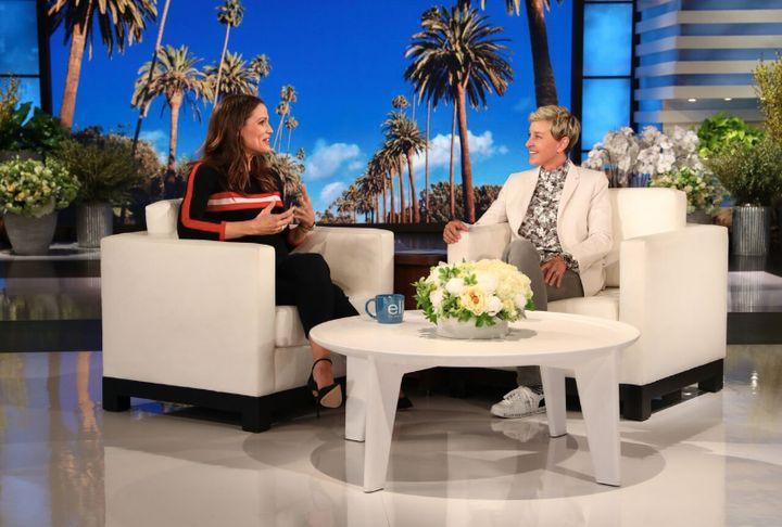 """Jennifer Garner visits """"The Ellen DeGeneres Show."""""""