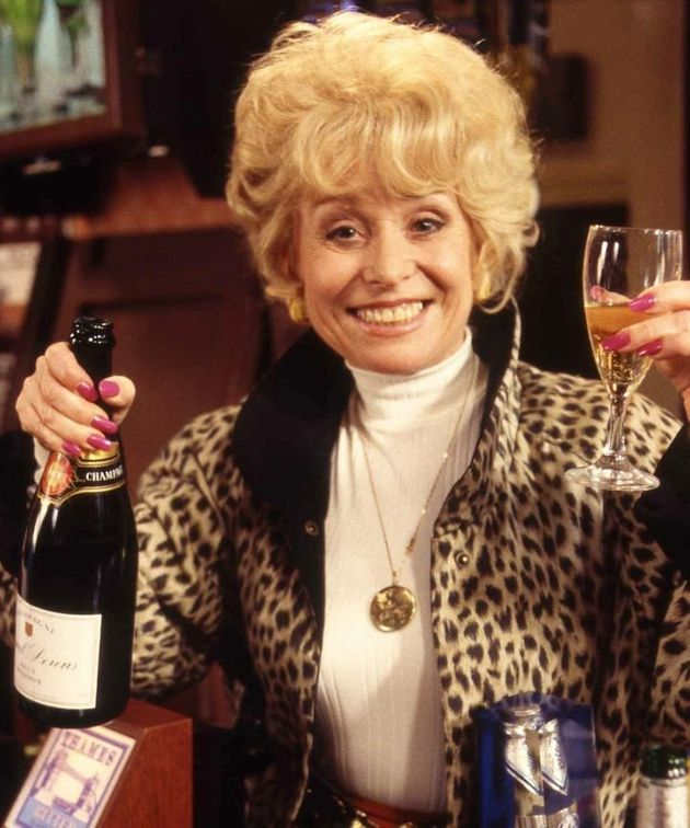 Barbara joined 'EastEnders' as Peggy Mitchell in