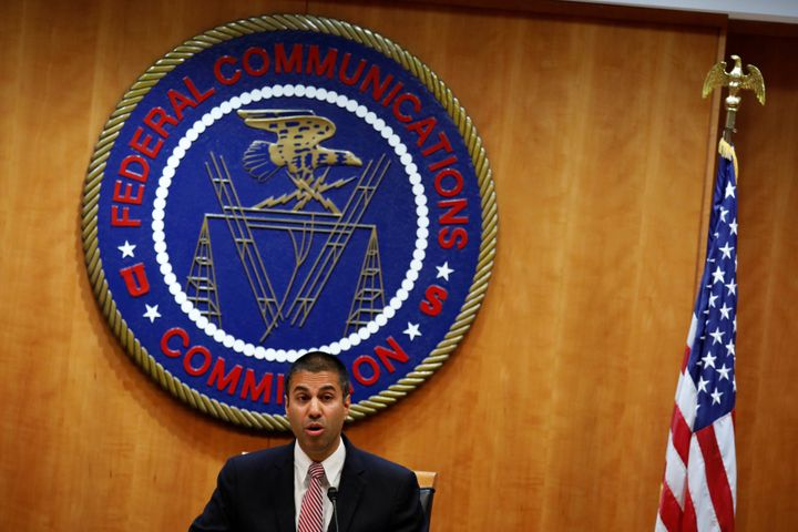 "The FCC in December repealed the Obama-era ""net neutrality"" rules. FCC Chairman Ajit Pai speaks ahead of that vot"