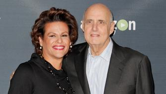 WEST HOLLYWOOD, CA - NOVEMBER 09:  Alexandra Billings and Jeffrey Tambor attend the premiere of Amazon's 'Transparent' season 2 at Silver Screen Theater at the Pacific Design Center on November 9, 2015 in West Hollywood, California.  (Photo by Tibrina Hobson/Getty Images)