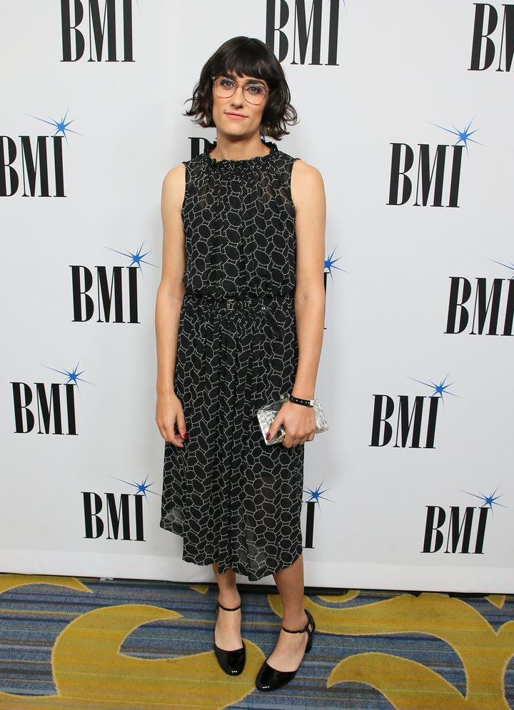 Teddy Geiger attends the BMI Pop Awards on May 8 in Beverly Hills, California.