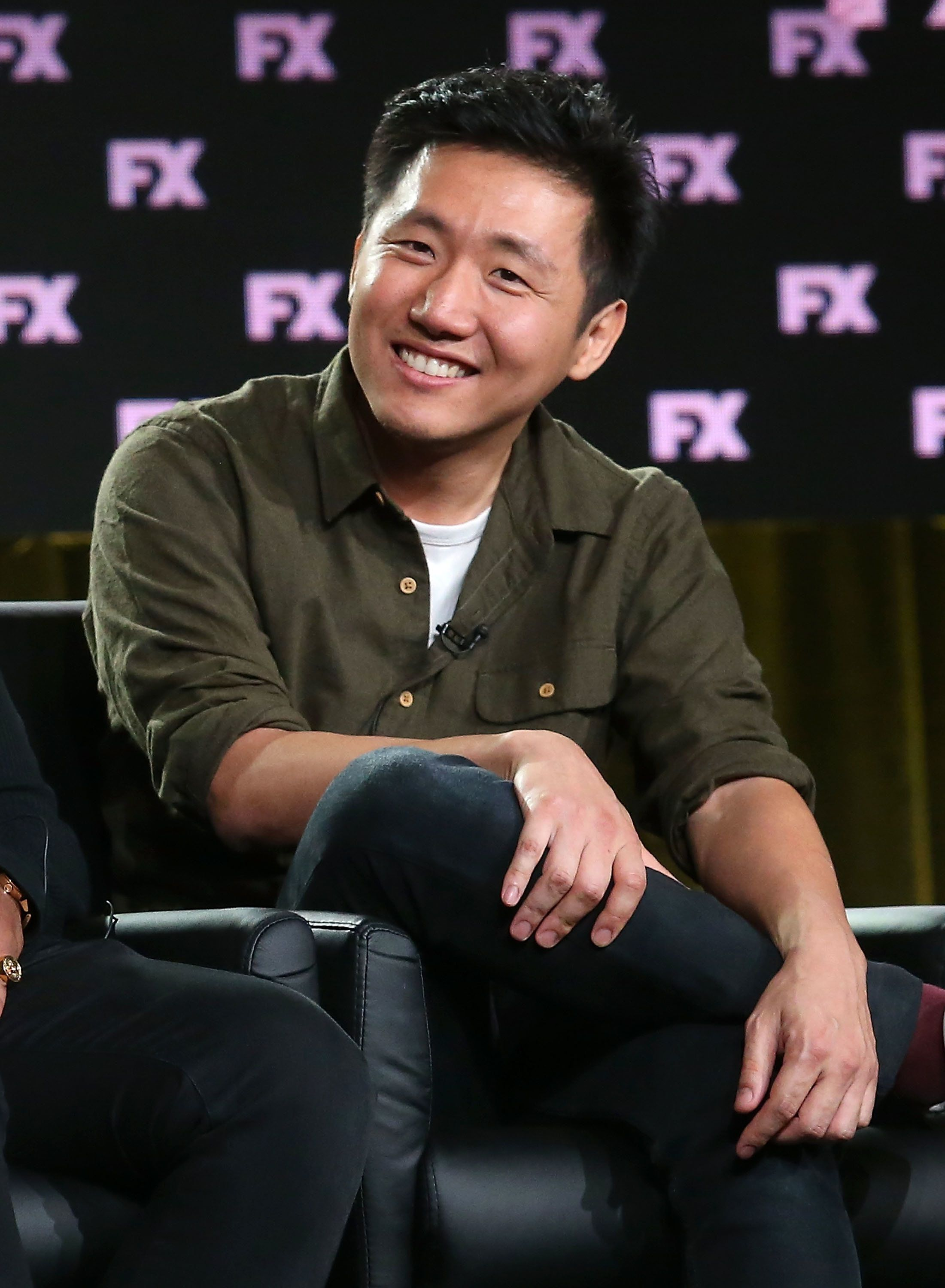"""When we were in the room for the Golden Globes, I look around and it's just me and Alan Yang,"" director Hi"