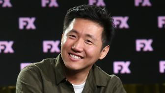 PASADENA, CA - JANUARY 05:  Co-executive producer/director Hiro Murai of the television show Atlanta speaks onstage during the FOX/FX Networks portion of the 2018 Winter Television Critics Association Press Tour at The Langham Huntington, Pasadena on January 5, 2018 in Pasadena, California.  (Photo by Frederick M. Brown/Getty Images)