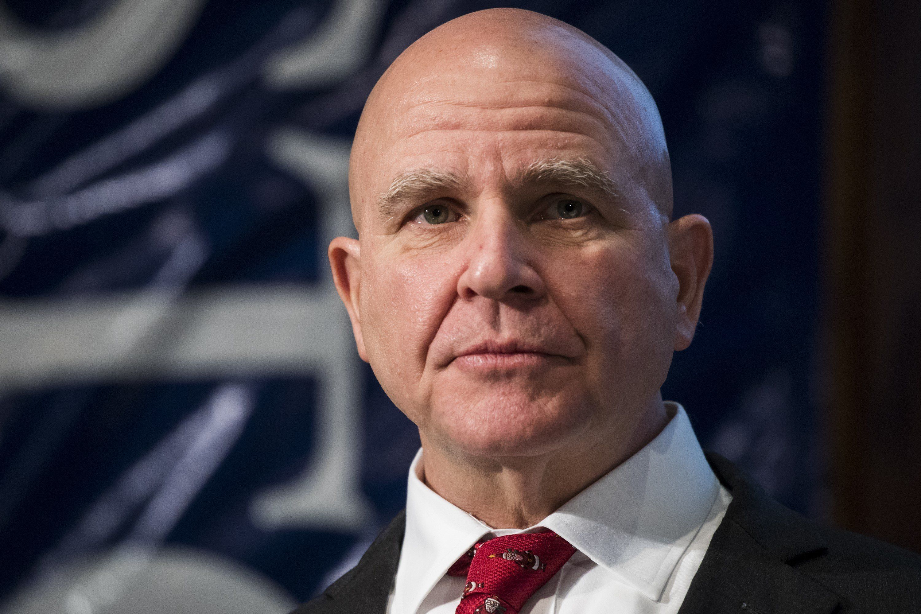 WASHINGTON, USA - DECEMBER 13: Lt. Gen. Herbert Raymond McMaster, National Security Advisor to President Trump, speaks at the Jamestown Foundation's 11th annual Terrorism Conference at the National Press Club in Washington, United States on December 13, 2017. (Photo by Samuel Corum/Anadolu Agency/Getty Images)