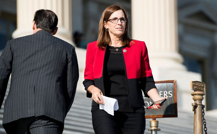 Rep. Martha McSally (R-Ariz.) is facing a challenge from the right in her bid to be a senator.