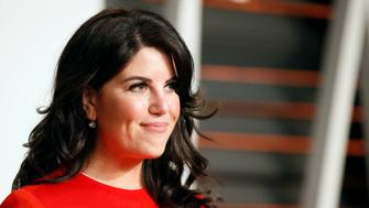 Designer Monica Lewinsky arrives at the 2015 Vanity Fair Oscar Party in Beverly Hills, California February 22, 2015. REUTERS/Danny Moloshok (UNITED STATES - Tags:ENTERTAINMENT) (VANITYFAIR-ARRIVALS)