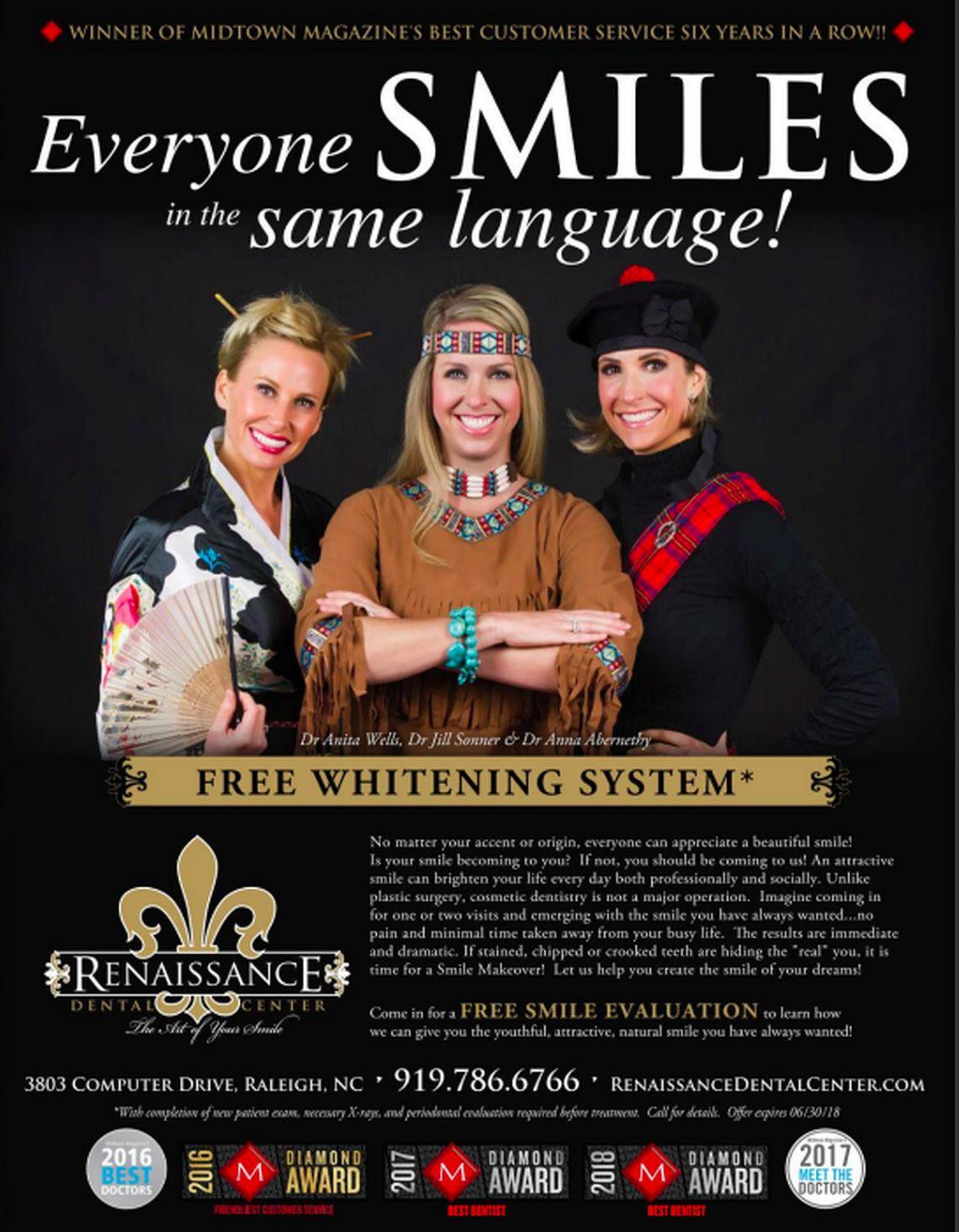 Renaissance Dental Centers unfortunate advertisement