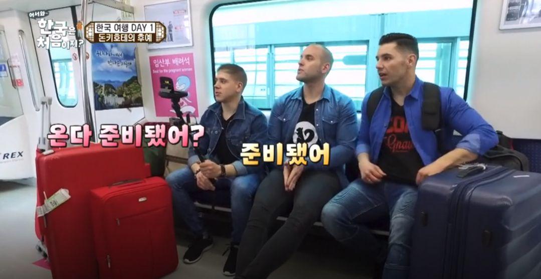 스페인 친구들이 낯선 한국에서 고국의 향기를 느낀