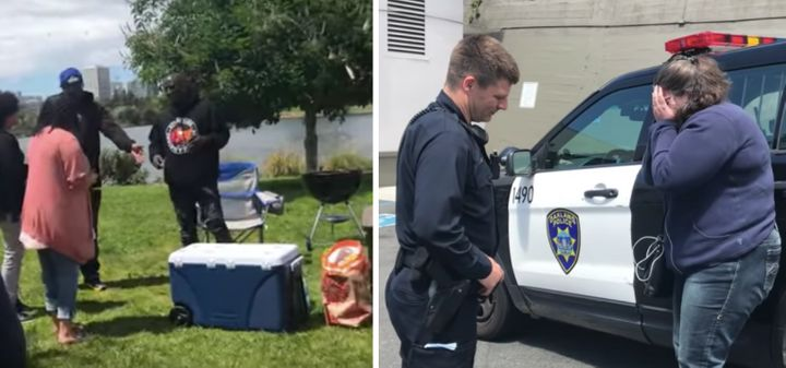 A white woman in Oakland, California, called the police on a black family for using a charcoal grill in a park