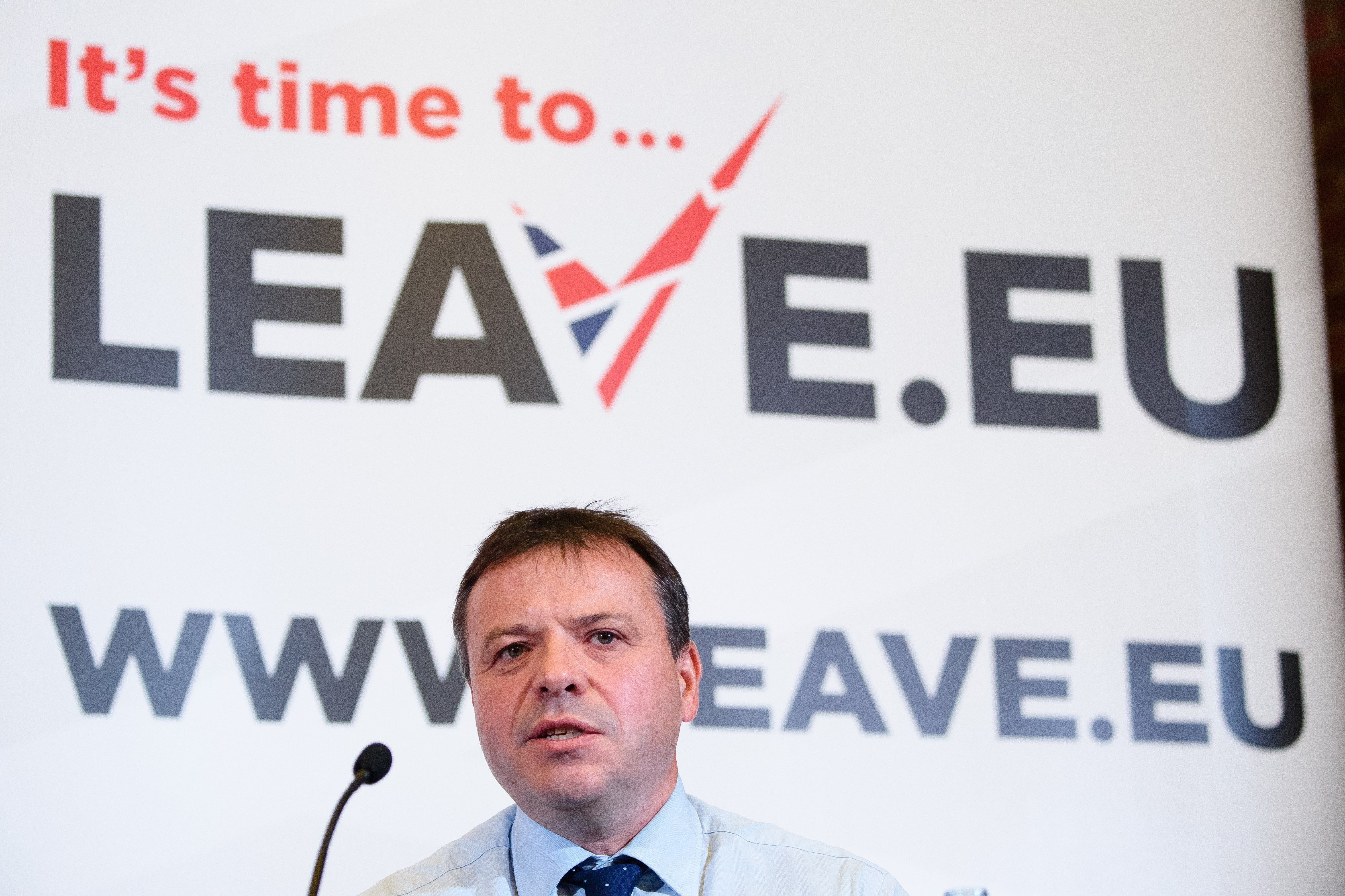 Leave.EU fined £70000 for breaking electoral laws during EU referendum