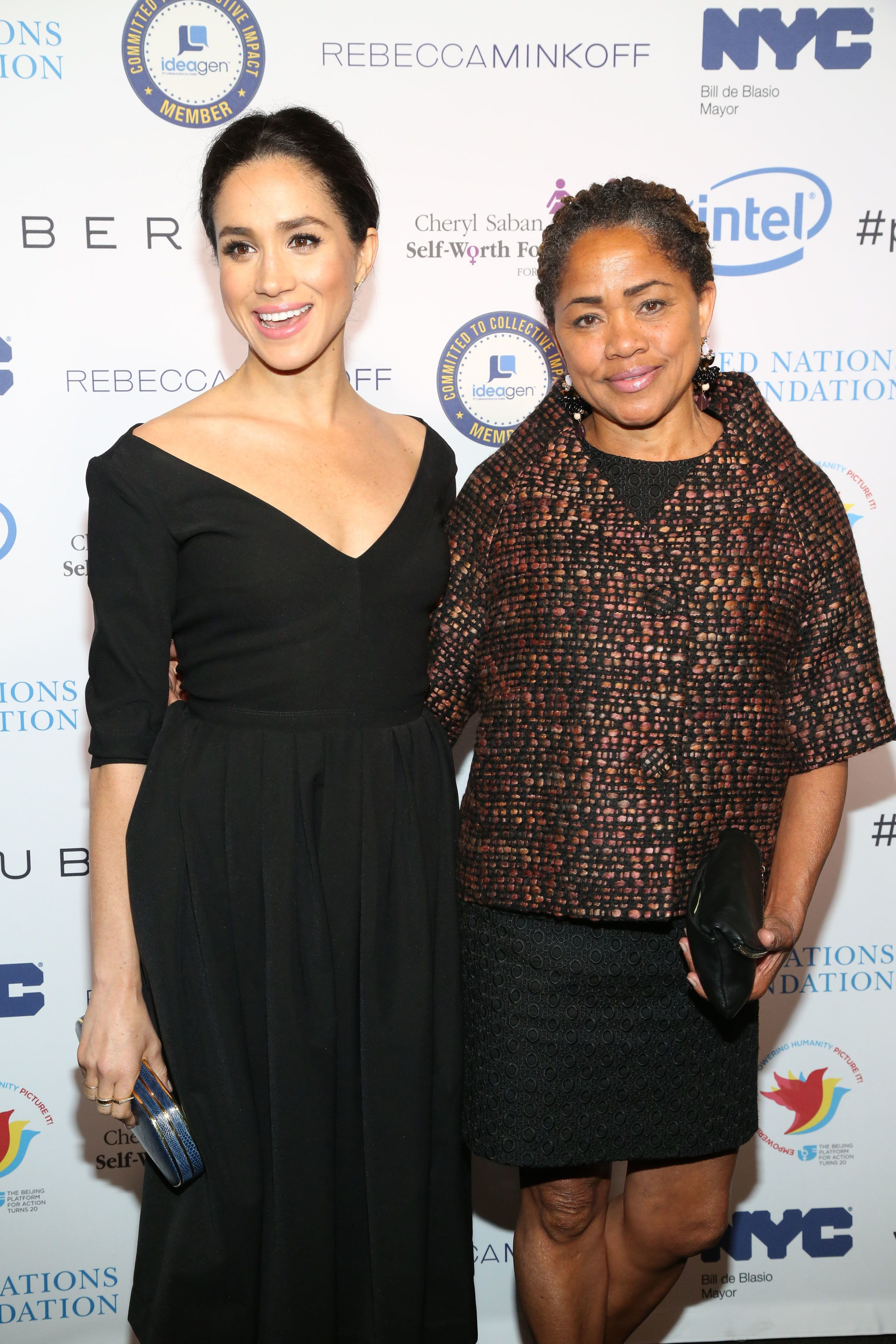 Meghan compared her 'free spirit' mother to a best