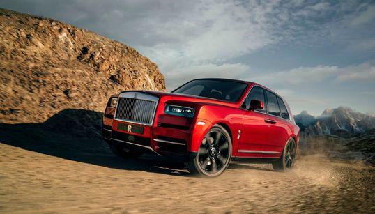 롤스로이스의 첫 번째 SUV '컬리넌'이 마침내 공개됐다