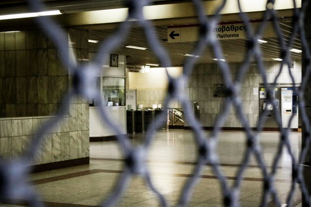 24ωρη απεργία στο Μετρό τη Δευτέρα 14