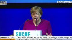 Rede in Münster: Merkel kritisiert Trump deutlich für Ausstieg aus
