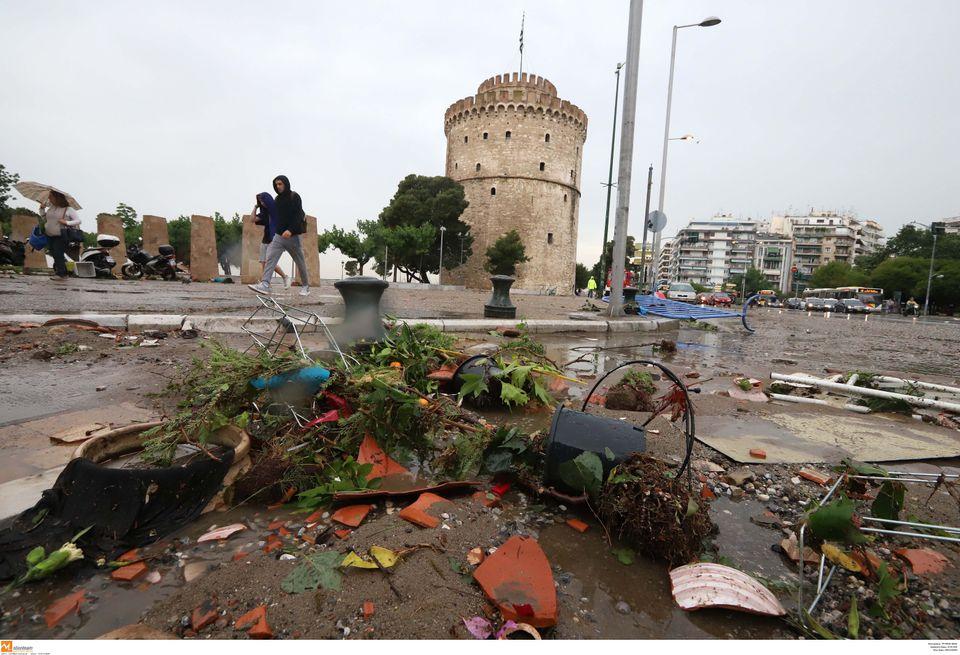 Αποκαθίστανται σταδιακά τα προβλήματα στη Θεσσαλονίκη. Ποιες περιοχές θα πλήξουν τα φαινόμενα τις επόμενες