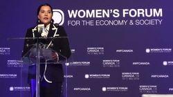 Lalla Hasnaa au Women's forum: