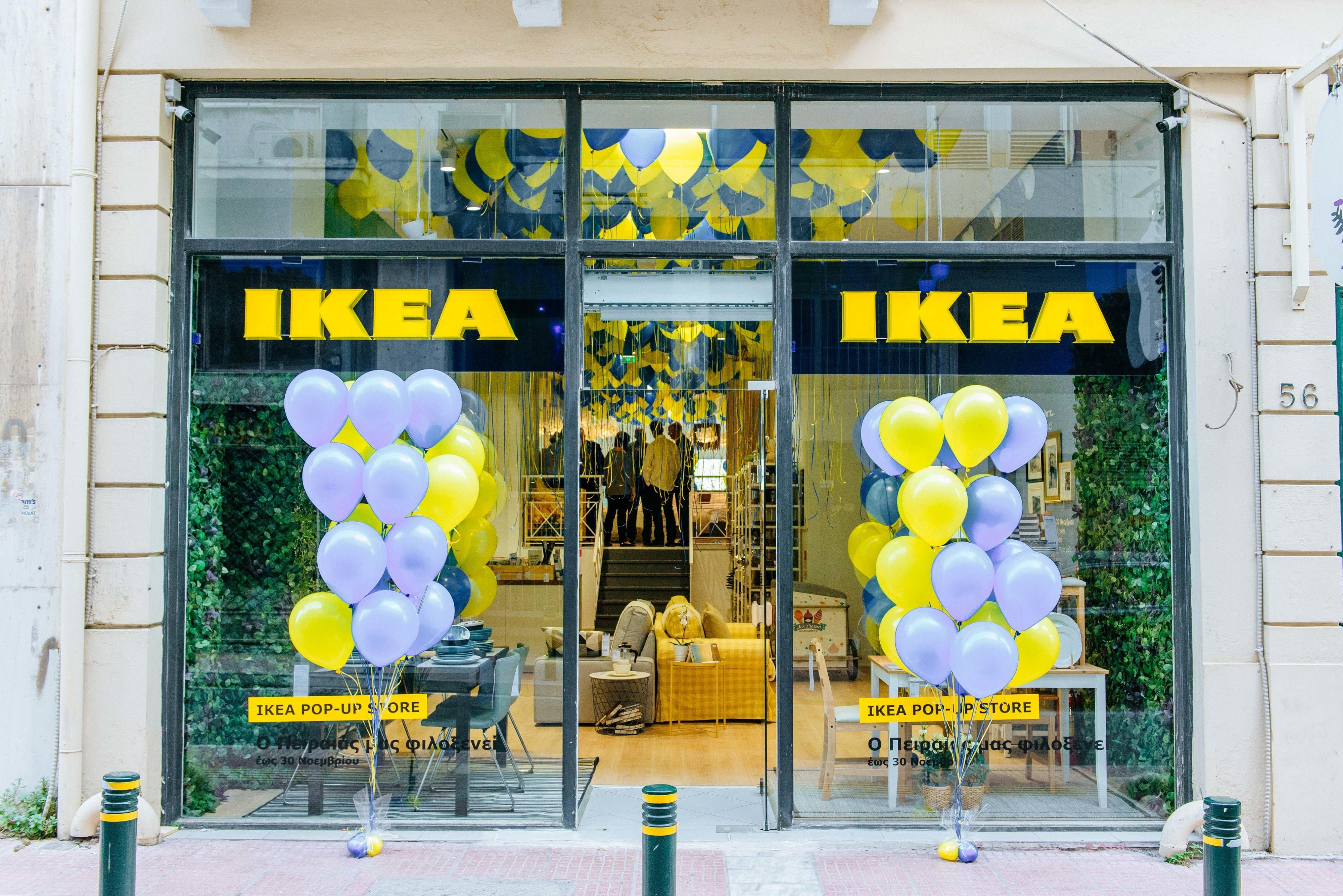 Η IKEA πρωτοπορεί και φέρνει ένα Pop-Up Store στον