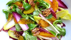 Salad With Burnt Orange And Spiced