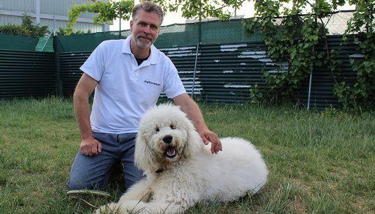 Dog Therapy γιατί... «Τα συναισθήματα του σκύλου θυμίζουν τα συναισθήματα των ηρώων της