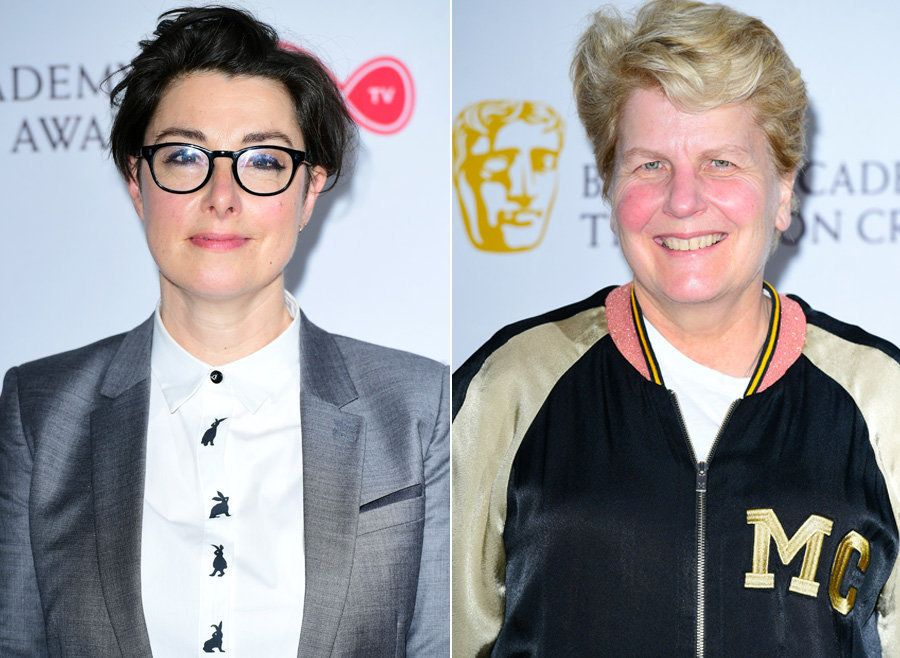 'Bake Off' Hosts Past And Present Lead Winners At British LGBT