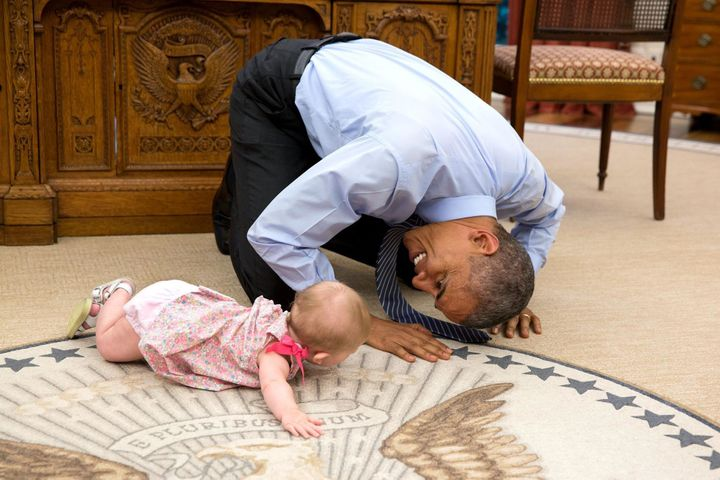 The name Barack rose in popularity after Obama appeared on the scene, though the number of babies named Barack declined throu