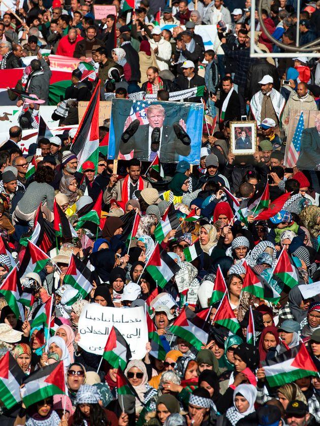 A Rabat, une marche pour la Palestine organisée