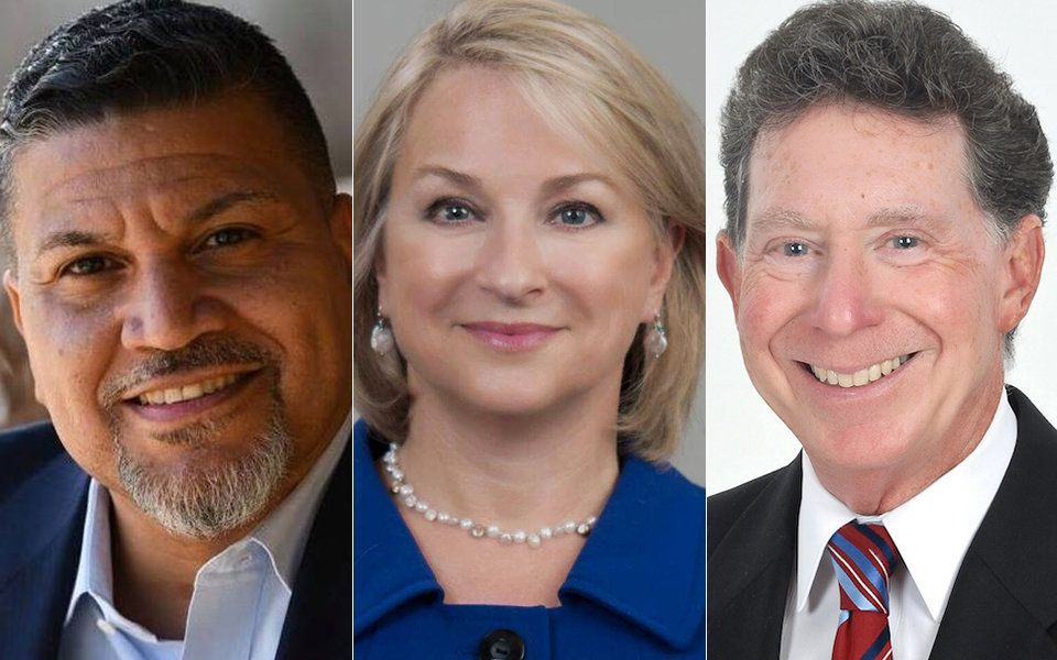 Left to right: Greg Edward, Susan Wild and John Morganelli are Democratic frontrunners for Pennsylvania's 7th Congressio