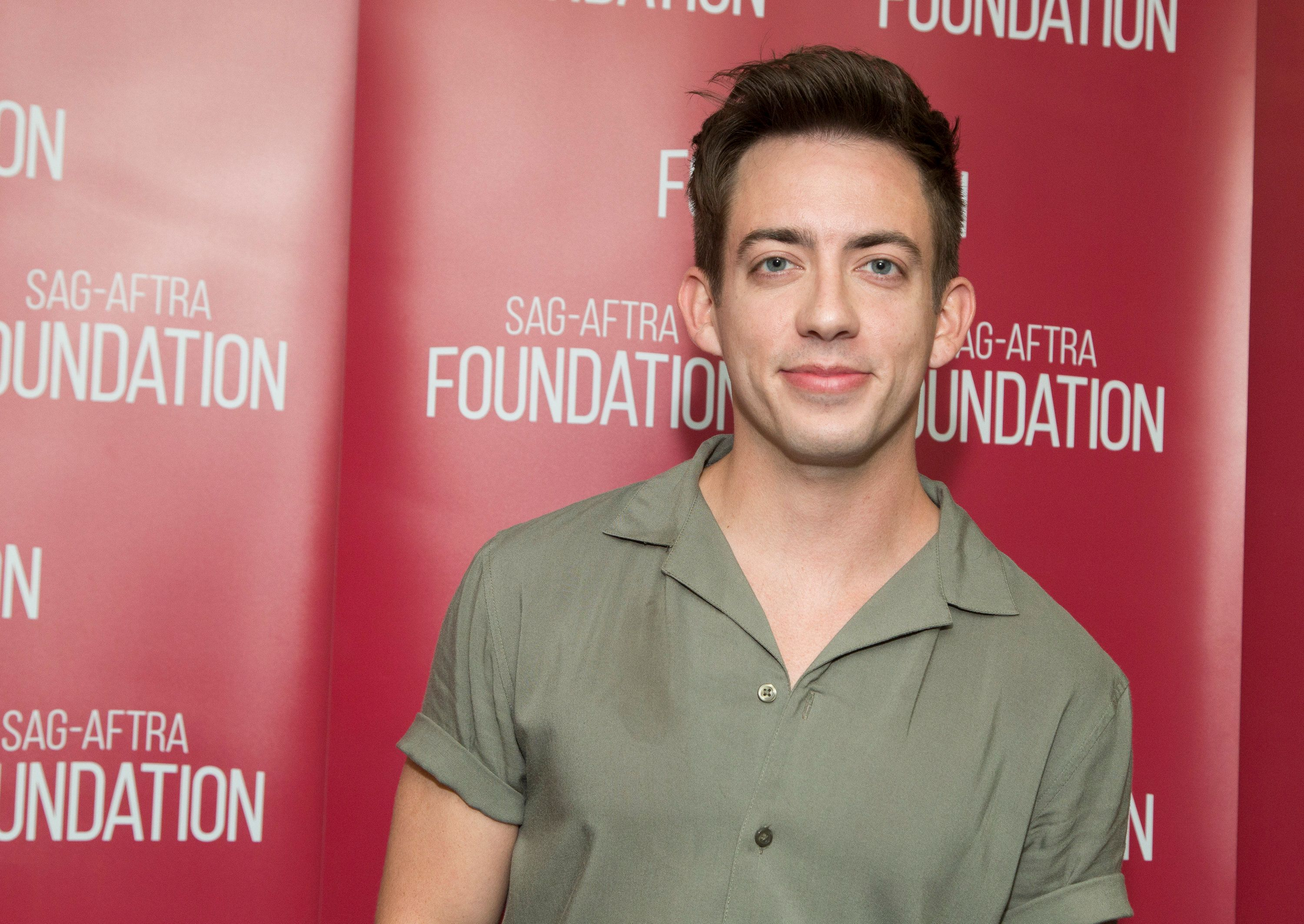 LOS ANGELES, CA - APRIL 12:  Actor Kevin McHale attends SAG-AFTRA Foundation's Conversations with 'When We Rise' at SAG-AFTRA Foundation Screening Room on April 12, 2017 in Los Angeles, California.  (Photo by Vincent Sandoval/Getty Images)