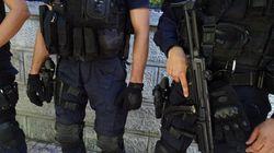 Πάνοπλοι άνδρες των ΕΚΑΜ συνέλαβαν τους δύο επικίνδυνους δραπέτες του