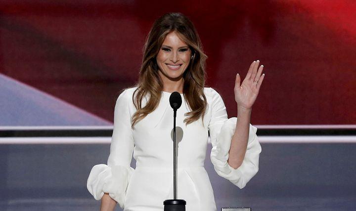 Melania Trump's favorability rating has risen in recent months.