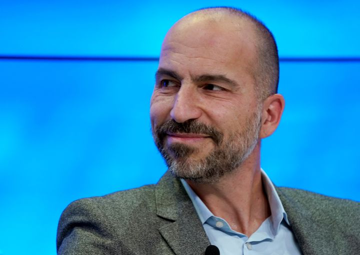 "Uber CEO Dara Khosrowshahi tweeted that Uber would take a closer look at its arbitration policy but has to ""take all of"