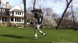 직립보행하는 로봇에 이어 달리는 로봇까지