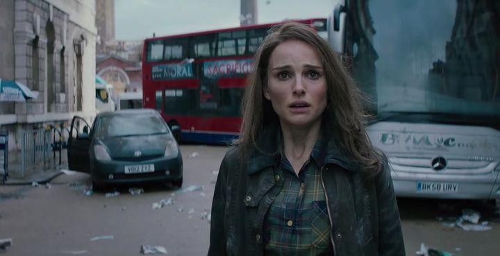 """Natalie Portman as Jane in """"Thor: The Dark World."""""""